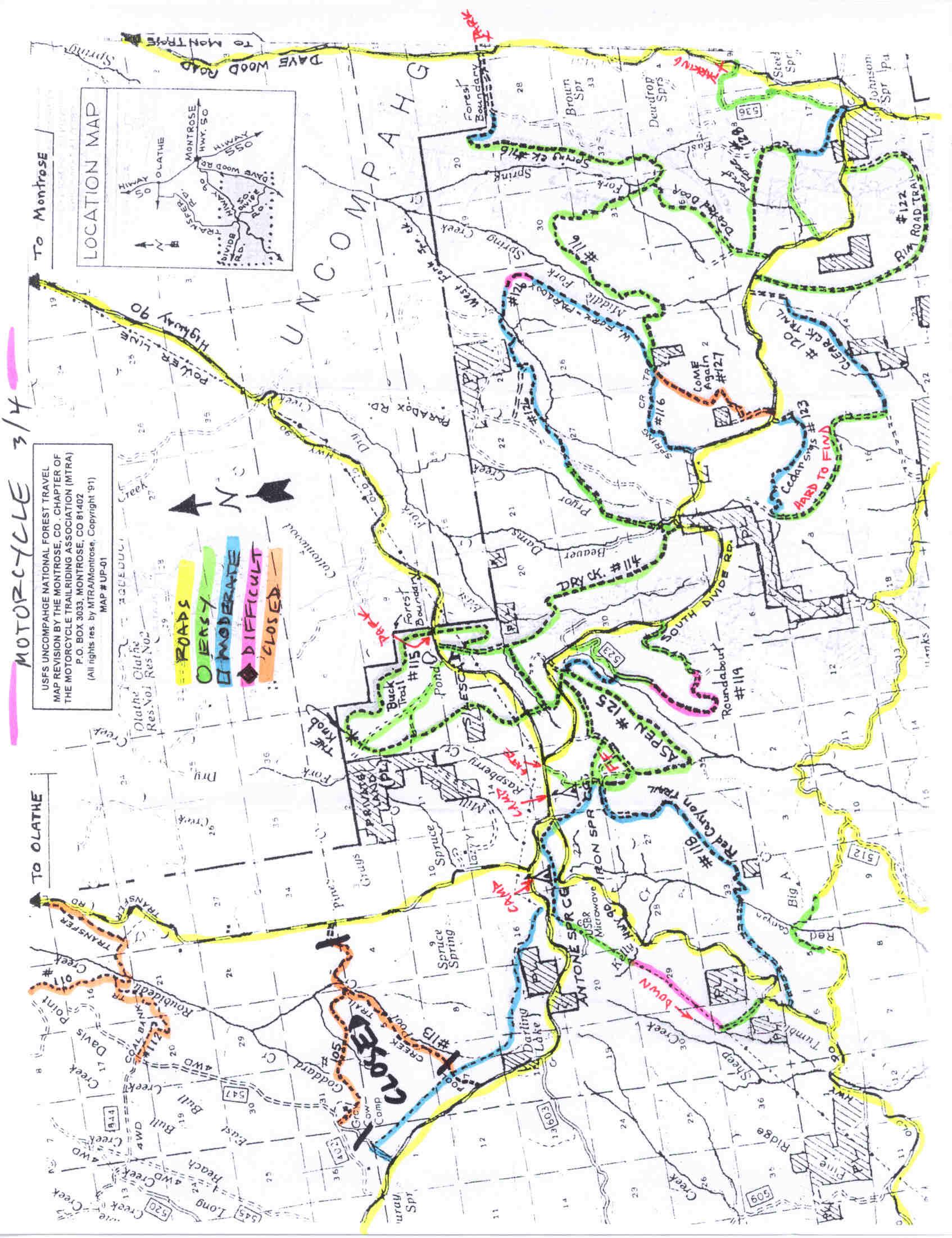 Maps   PAPA Telluride